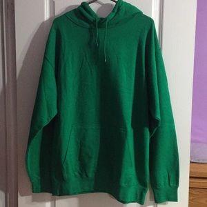 Stole Your Boyfriend's Oversized Hoodie - Green